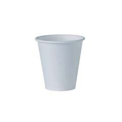Eco-Forward Treated Paper Water Cups, 3 oz., Cold, White, 100/Bag SCCRD3LBB