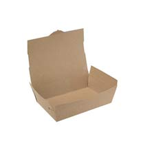 ChampPak Carryout Boxes, 3lb, 7 3/4w x 5 1/2d x 2 1/2h, Brown SCH0733