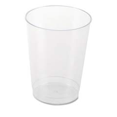 Plastic Tumblers, Cold Drink, Clear, 10 oz WNAT10