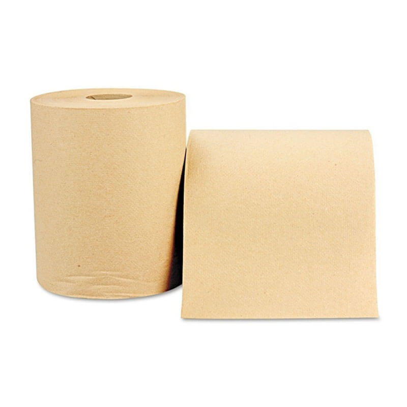 Nonperforated Paper Towel Roll, 8 x 800', Natural WIN1280
