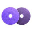 Diamond Floor Pads. 17-Inch, Purple MCO47951