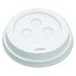 Hot Cup Dome Lids, 10-20oz, White BWK10-20DOMELID