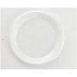 Non-Laminated Foam Plates, 10 1/4 Inches, White, 3 Compartments, 135/Pack BWK1025UNLAM3C
