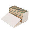 "Green Single-Fold Paper Towels, Natural White - 10"" x 9"" - (16) 250 Sheets BWK12GREEN"