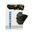 Medium-Grade Can Liners, 33 x 39, 33-Gallon, .50 Mil, Black, 25/Roll BWK3339H