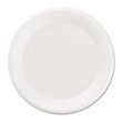 Non-Laminated Foam Plates, 6 Inches, White, 125/Pack BWK6UNLAM