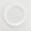Non-Laminated Foam Plates, 9 Inches, White, 125/Pack BWK9UNLAM
