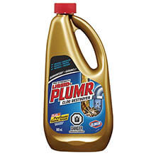 Liquid Plumr Heavy-Duty Clog Remover, Unscented, Gel, 1 qt. Bottle CLO00243
