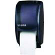 Duett Standard Bath Tissue Dispenser, 2 Roll, Black Pearl