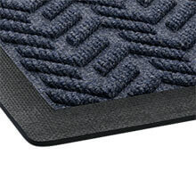 "EcoPlus Wiper/Scraper Mat, Midnight Blue - 35"" x 59"" CWNECR035MB"