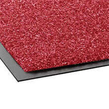 Rely-On Olefin Indoor Wiper Mat, 36 x 48, Red/Black CROGS34CRE