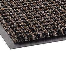 Oxford Wiper Mat, Olefin, 48 x 72, Brown/Black CROOXH46BBL