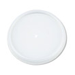 Plastic Lids, for 12 oz. Hot/Cold Foam Cups, Vented DCC12JL