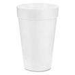 Drink Foam Drink, 14 oz, White DCC14J16