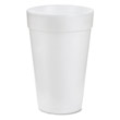 Drink Foam Cups, 16 oz, White DCC16J16
