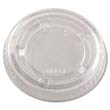 Portion Cup Lids, Plastic, Clear DCC200PCL