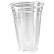 Conex Clear Plastic Cup, Cold, 20 oz., 50/Bag DCC20CT