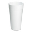 Drink Foam Cups, 20 oz DCC20J16