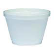 Food Containers, Foam 4 oz, White DCC4J6