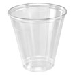 Conex Clear Plastic Cups, 5 oz., Clear, 100/Bag DCC5C