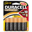 Coppertop Alkaline Batteries, AA DRCMN1500B10Z