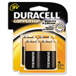 Coppertop Alkaline Batteries, 9V DRCMN16RT4Z