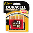 Coppertop Alkaline Batteries, AAA DRCMN24RT12Z