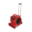 Commercial Three-Speed Air Mover w/Built-on Dolly, Red EUR6052