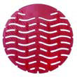 Wave Urinal Deodorizer Screen - Lasts 30 Days - Red - Spiced Apple Fragrance FRSWDS10SAP