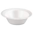 Celebrity Foam Bowls, 5 Ounces, White, Round, 125/Pack GNP80500