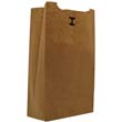 3# Paper Bag, 30-Pound Base Weight, Brown Kraft, 4-3/4 x 3-9/16, 500-Bundle BAGGK3-500