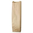 Paper Bag, 35-Pound Base Weight, Brown Kraft, 4-1/2 x 2-1/2 x 16, 500-Bundle BAGLQQUART-500