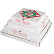 Takeout Container, 14in Pizza, White, 14w x 14d x 2 1/2h BOXPZCORB14