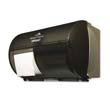 Coreless 2-Roll Tissue Dispenser,10 1/8 x 6 3/4 x 7 1/8,Smoke/Gray GPC567-84