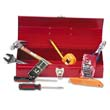 16-Piece Light-Duty Office Tool Kit in 16 Metal Box, Red GRECTB9