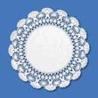 "Cambridge Lace Doilies, Round, 8"", White HFM500236"