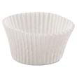 "Fluted Bake Cups, 4 1/2"" dia x 1 1/4h, White HFM610032"