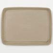Savaday Molded Fiber Food Trays, 9 x 12 x 1, Beige, Rectangular HUH20815
