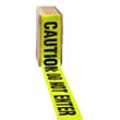 "Caution Do Not Enter Barrier Tape, 3"" x 1000 Ft., Yellow/Black IMP7327"