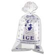 Ice Bag, 11 x 20, 8-Pound Capacity, 1.50 Mil, Clear/Blue, 1000/Case IBSIC1120