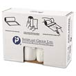 High-Density Can Liner, 38 x 60, 60-Gallon, 12 Micron, Clear, 25/Roll IBSS386012N