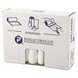 High-Density Can Liner, 33 x 39, 33-Gallon, 11 Micron Equivalent, Clear, 25/Roll IBSVALH3340N11