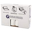 High-Density Can Liner, 33 x 39, 33-Gallon, 16 Micron Equivalent, Clear, 25/Roll IBSVALH3340N16