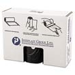 High-Density Can Liner, 38 x 58, 60-Gallon, 22 Micron Equivalent, Black, 25/Roll IBSVALH3860K22