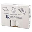 High-Density Can Liner, 38 x 58, 60-Gallon, 14 Micron Equivalent, Clear, 25/Roll IBSVALH3860N14