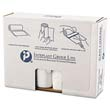 High-Density Can Liner, 43 x 46, 60-Gallon, 16 Micron Equivalent, Clear, 25/Roll IBSVALH4348N16