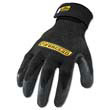 Cut Resistant Stainless Steel, Nylon-Mesh Gloves, Pair, Black, Large IRNICR04L