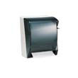 IN-SIGHT LEV-R-MATIC Towel Dispenser, 10 3/4wx9 3/5dx13 3/4h, Smoke/Gray KCC09736