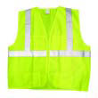 JACKSON SAFETY ANSI Class 2 Deluxe Safety Vest, XL/XXL, Lime/Silver KCC22838