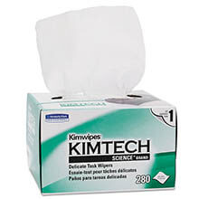 KIMTECH SCIENCE KIMWIPES, Tissue, 4 2/5 x 8 2/5 KCC34120
